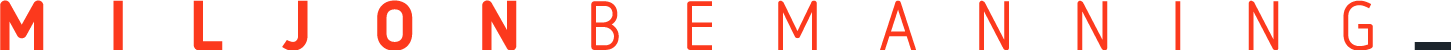 Miljonbemanning Logo